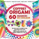 Coffret Origami 60 nuances de couleur