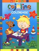 Cajoline - Coloriage (bleu)