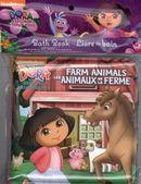 Dora Animaux de la ferme - Livres de bain