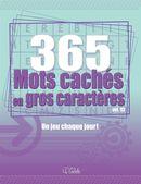 365 Mots cachés en gros caractères 13