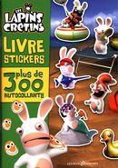 Lapins crétins livre stickers 01