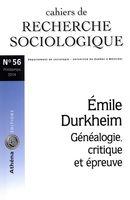 Cahiers de recherche sociologigue 56