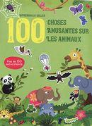 Apprendre et coller 100 choses amusantes sur les animaux