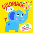L'éléphant - Coloriage facile