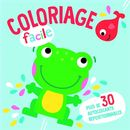 La grenouille - Coloriage facile