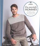 Les essentiels hommes : 13 modèles à tricoter dans 2 qualités de fils