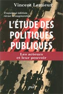 L'étude des politiques publiques 3e édition