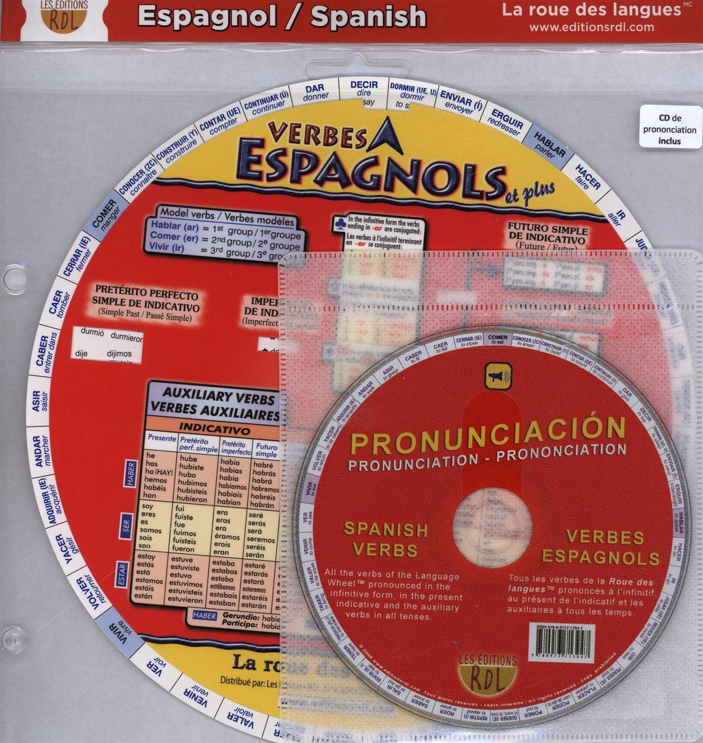 Rdl Verbes Espagnols Avec Traduction En Francais Et En Anglais Cd Distribution Prologue