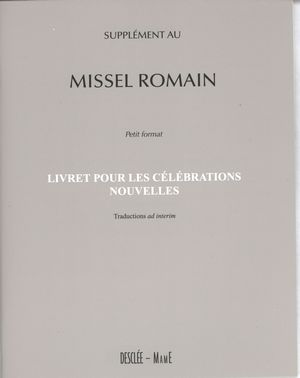 Supplément au Missel romain-petit format