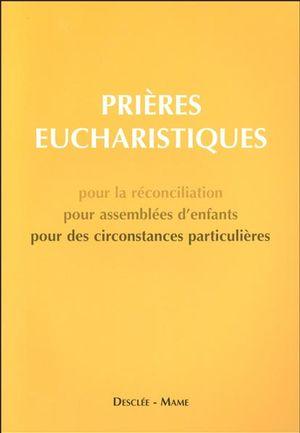 Prières eucharistiques