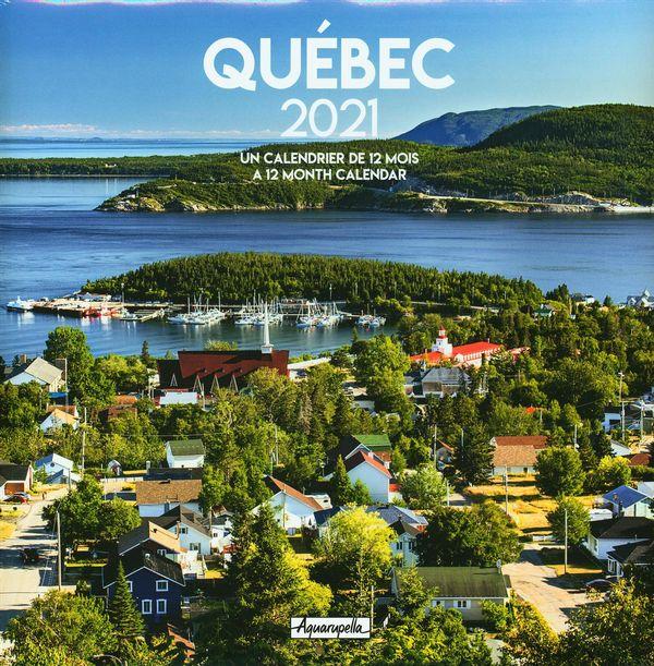 Calendrier 2021 Québec