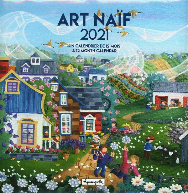 Calendrier 2021 Art Naif