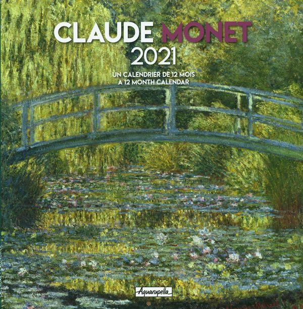 Calendrier 2021 Monet