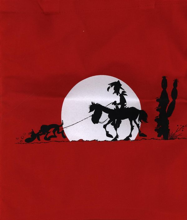 Sac Lucky Luke - Soleil couchant