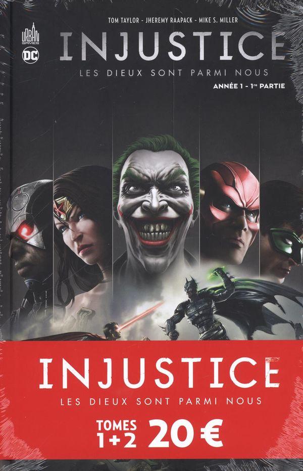 Injustice pack 01 + 02