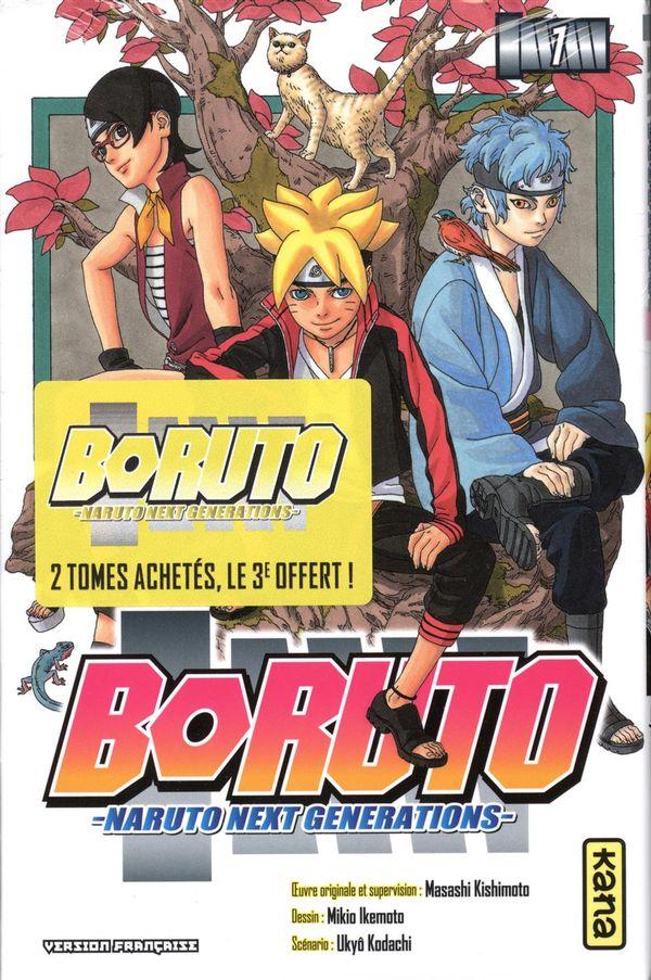 Boruto Pack 2+1