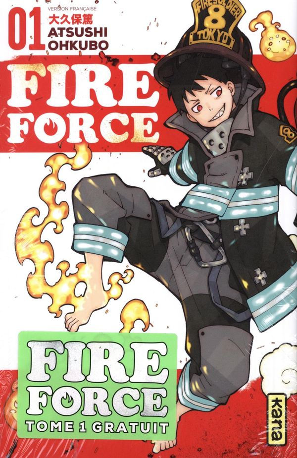 Fire Force pack 01-03