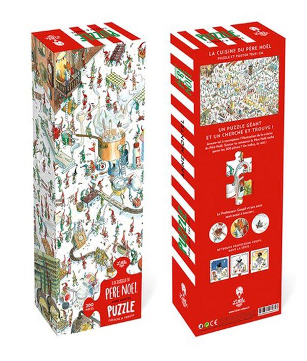 A la recherche du père Noël - Puzzle géant