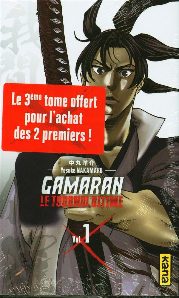 Gamaran  Le tournoi ultime pack 2+1