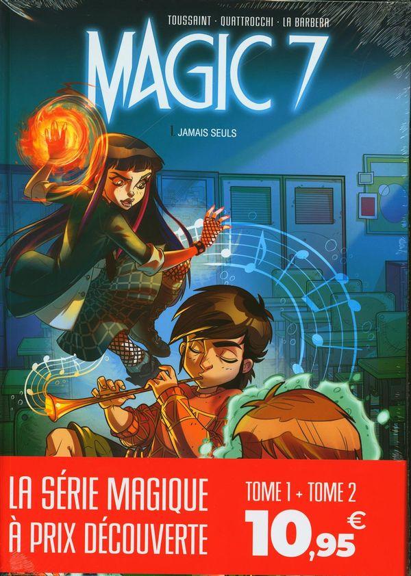 Bipack Magic 7 01-02 (DT 01 gratuit)