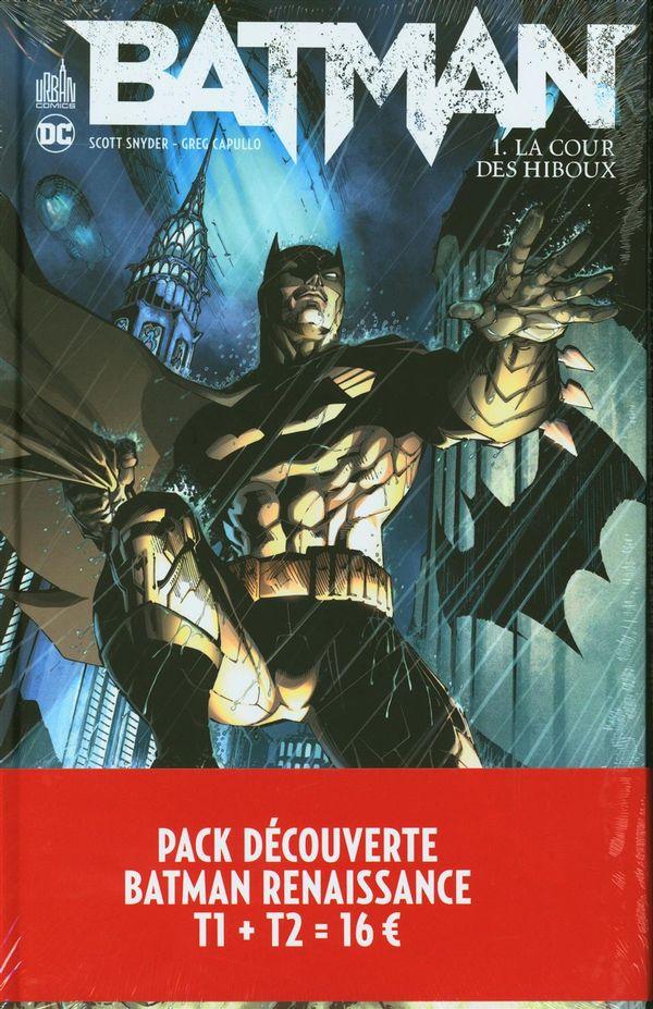 Pack découverte Batman Renaissance 01 + 02 prime