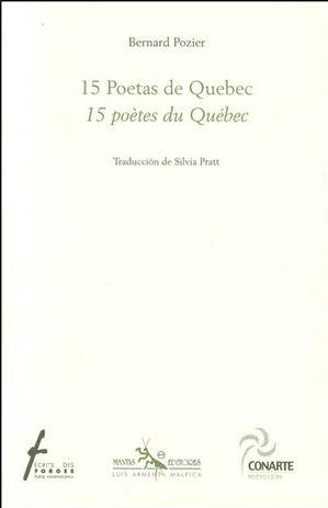 15 poètes du Québec