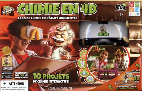 Chimie en 4D