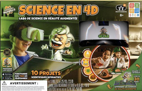Science en 4D : Labo de science en réalité augmentée