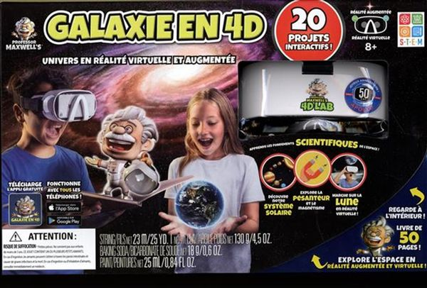 Galaxie en 4D