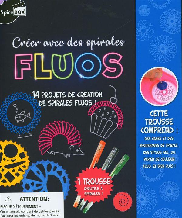 Créer avec des spirales Fluos