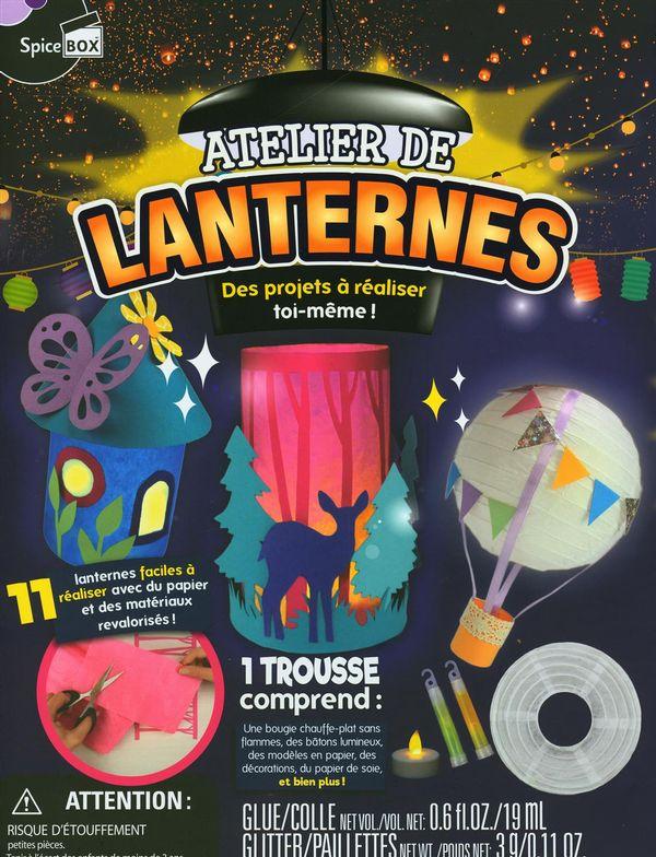 Atelier de lanternes : Des projets à réaliser toi-même!