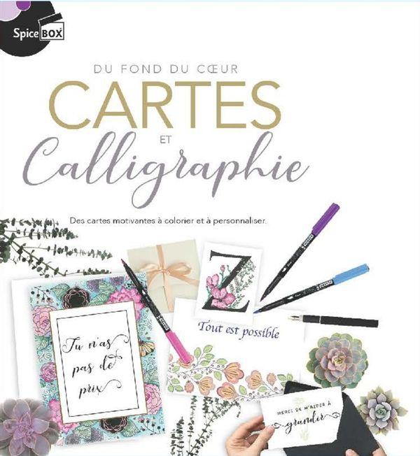 Cartes et Calligraphie