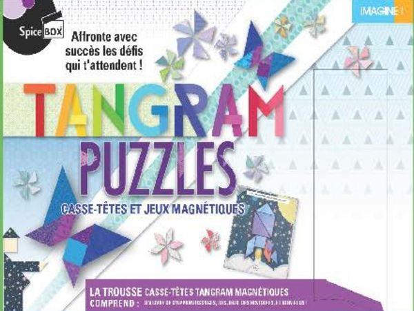 Tangram sorcier : Casse-têtes et jeux magnétiques