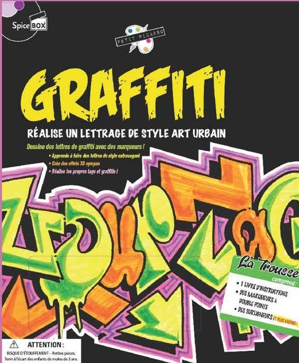 Graffiti : Réalise un lettrage de style art urbain