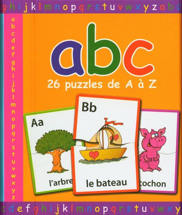 Abc - 26 puzzles de A à Z