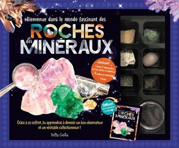Coffret roches et minéraux