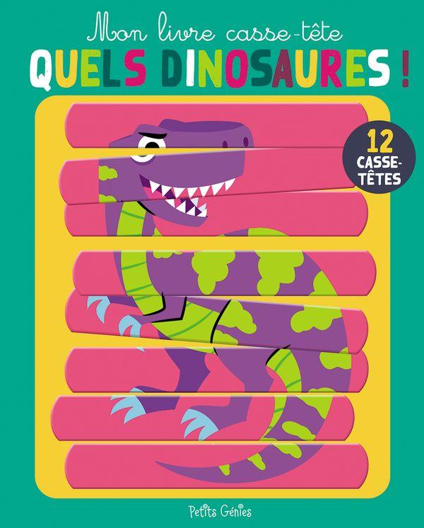 Quels dinosaures ! - 12 casse-tête