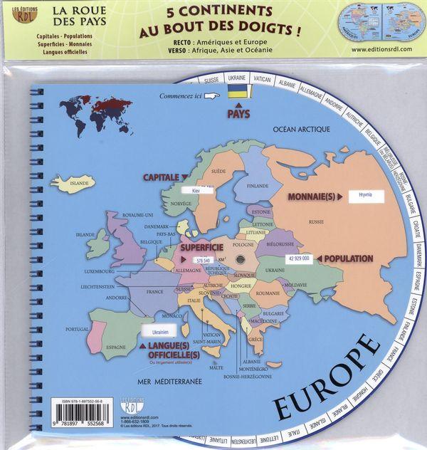La roue des pays  N.E.