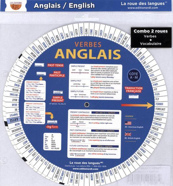 Combo 2 roues - Anglais, verbes + Vocabulaire