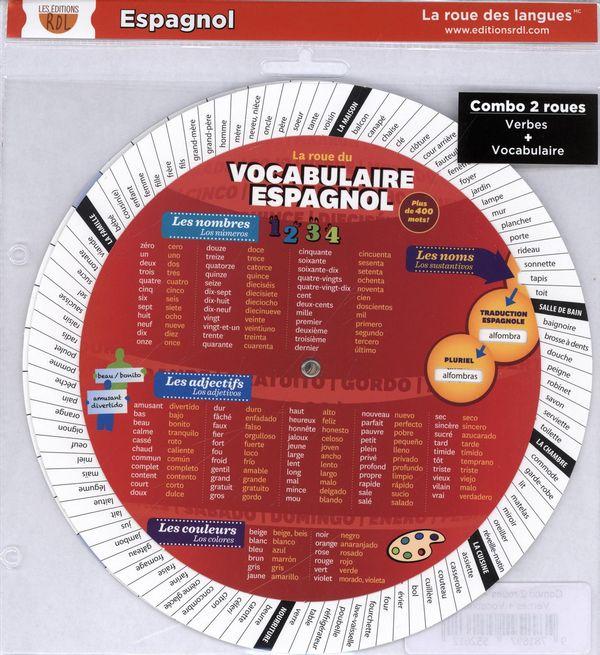 Combo 2 roues - Espagnol : Verbes + Vocabulaire
