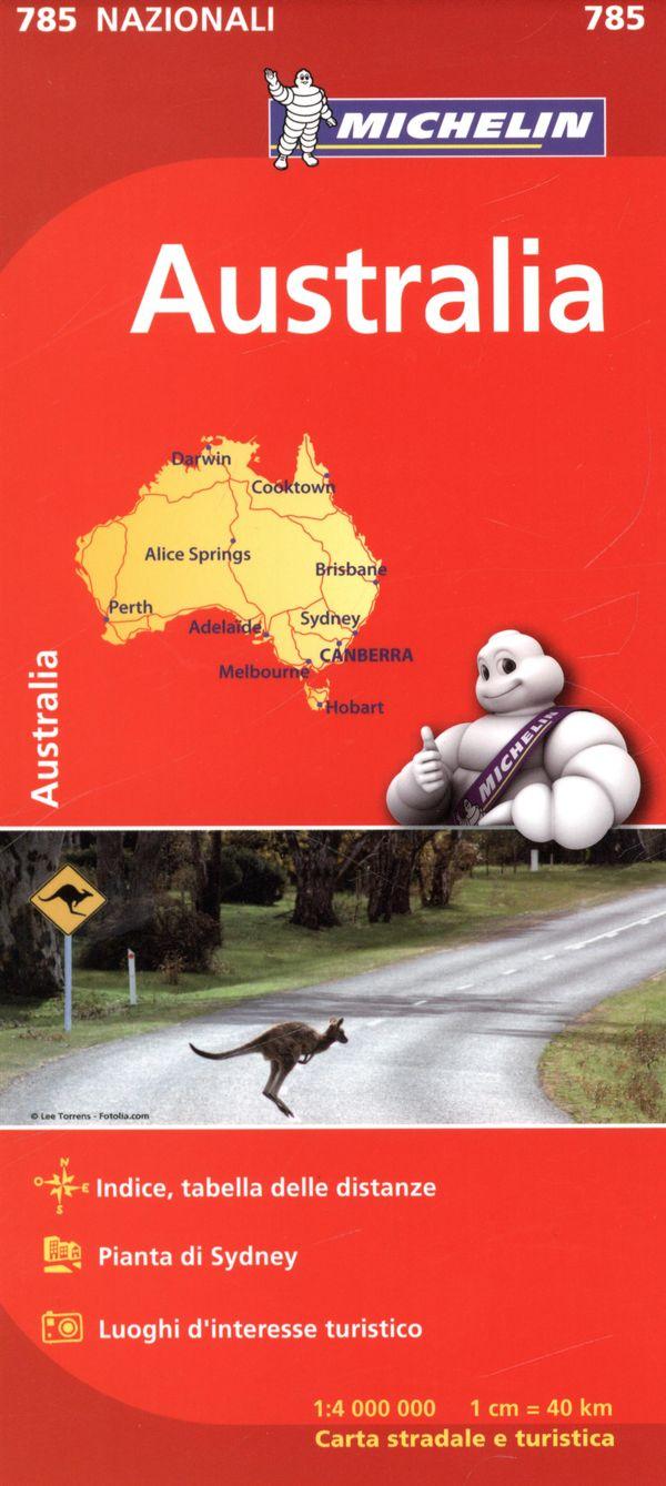 Australia 785 - Carte nat. N.E.