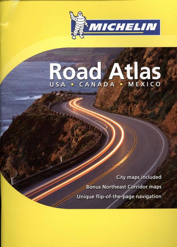 Road Atlas USA - Canada - Mexico 2019 format moyen