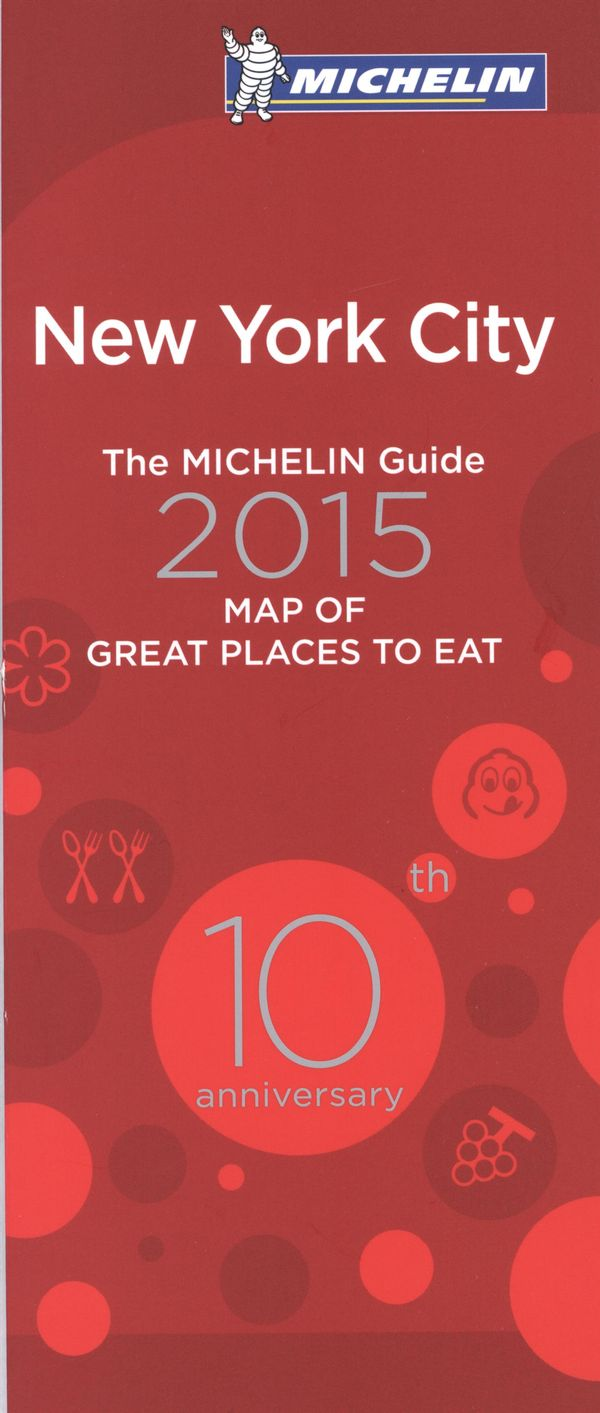 New-York City 2015 - Map of great place to eat