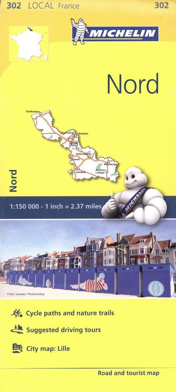 France Nord 302 - Carte ville local