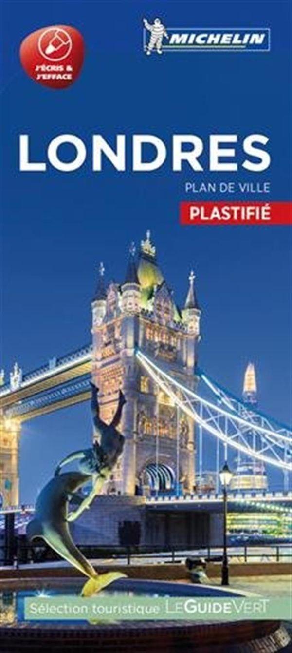 Londres - Plan de ville plastifié