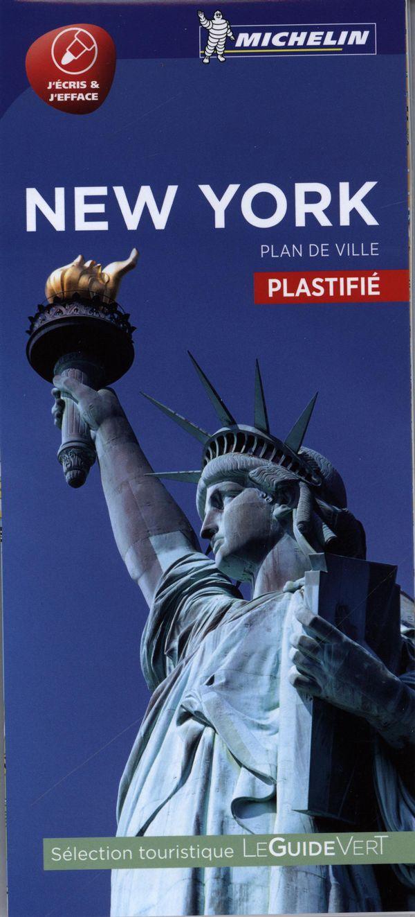 New York - Plan de ville plastifié