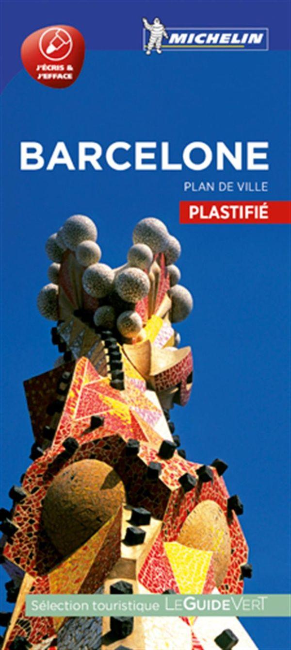 Barcelone - Plan de ville plastifié