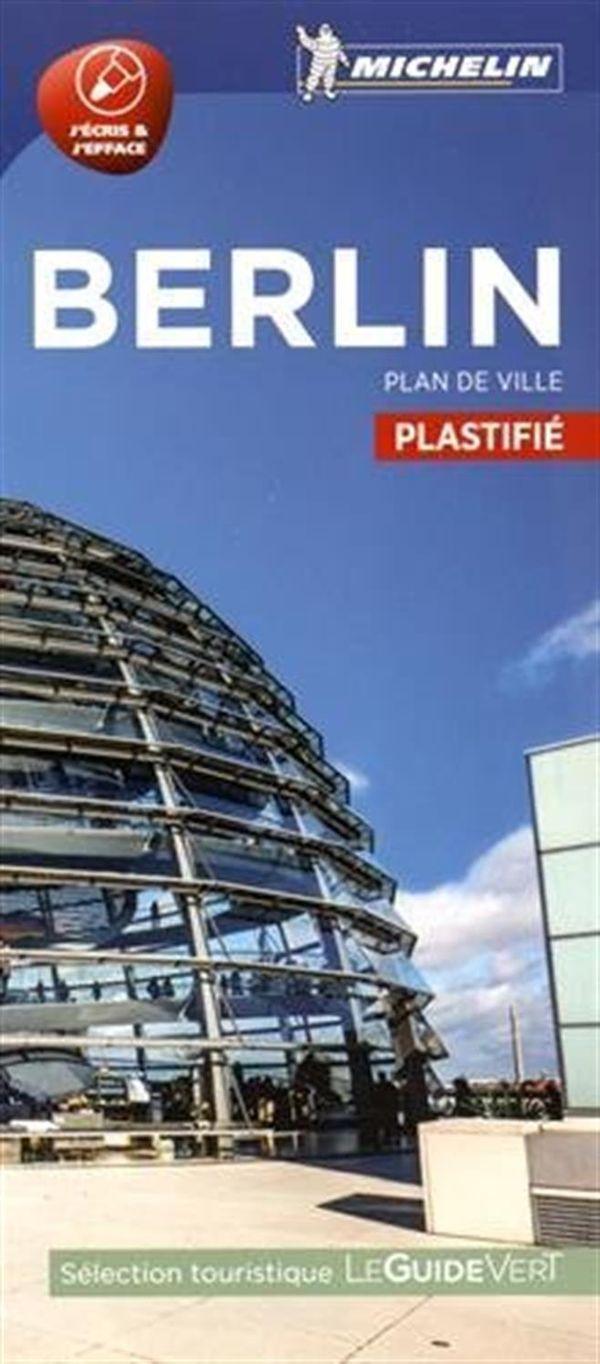 Berlin - Plan de ville plastifié