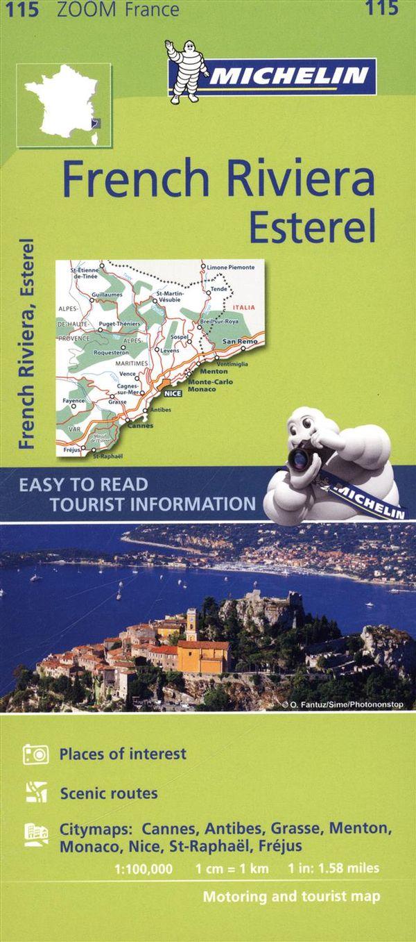 France French Riviera, Esterel 115 - Carte zoom