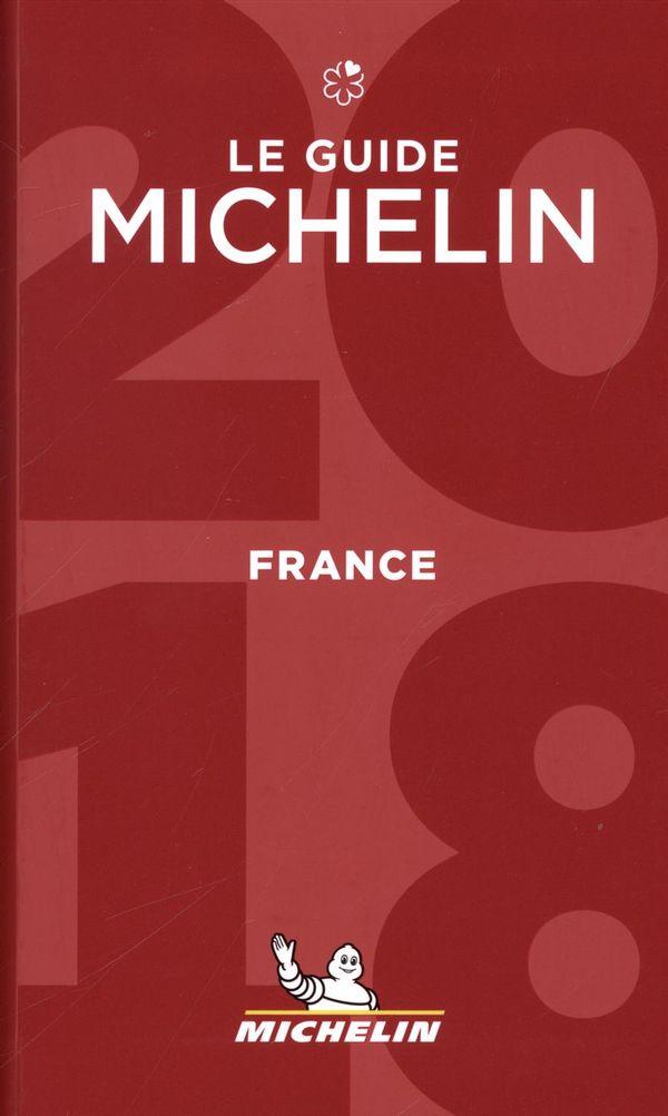 France 2018 - Le Guide Michelin